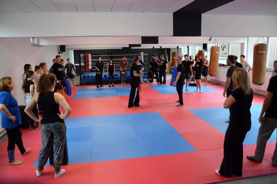 Kampfsport Training im BKF Bünde