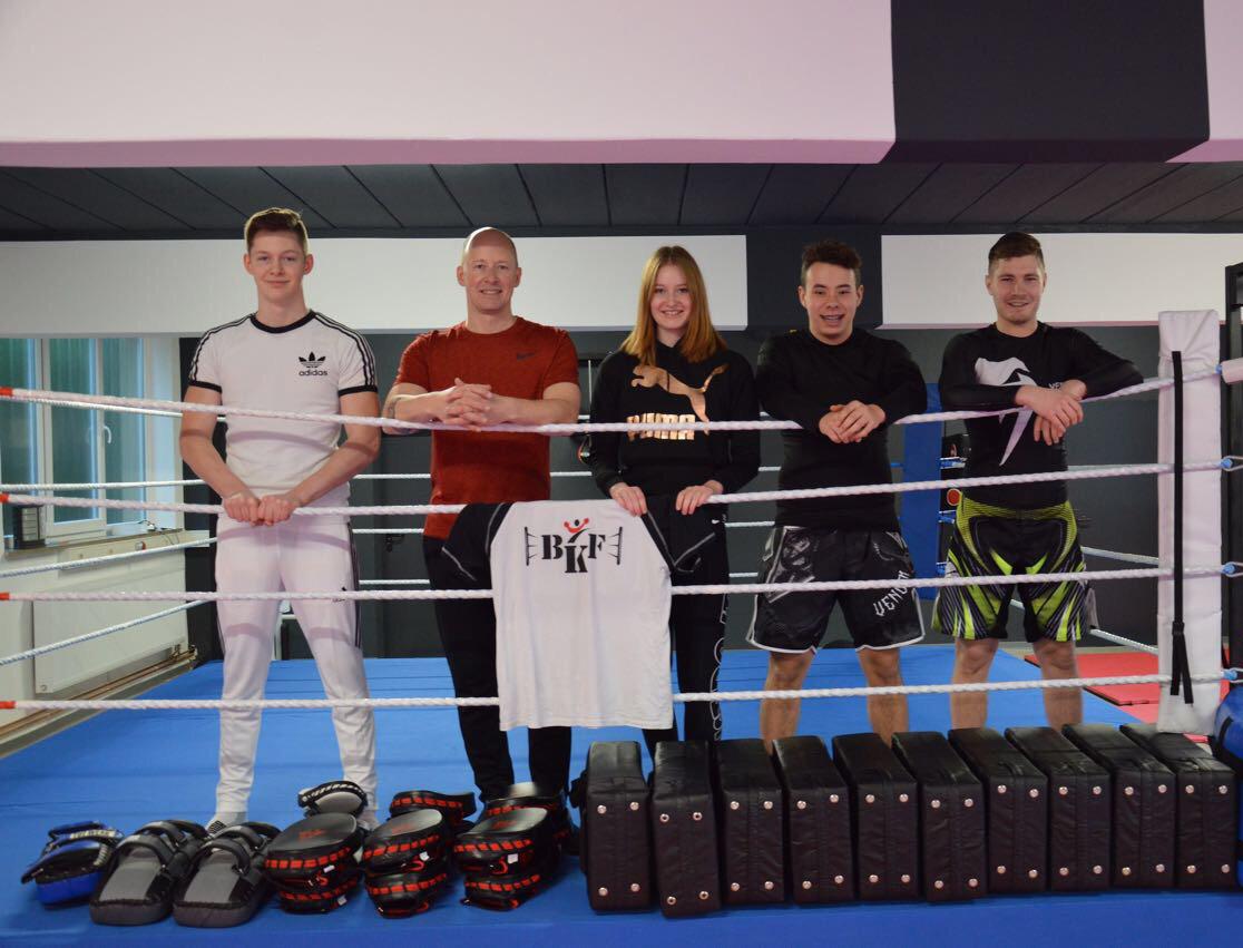 Organisationsteam im Bünder Kampfsport und Fitness
