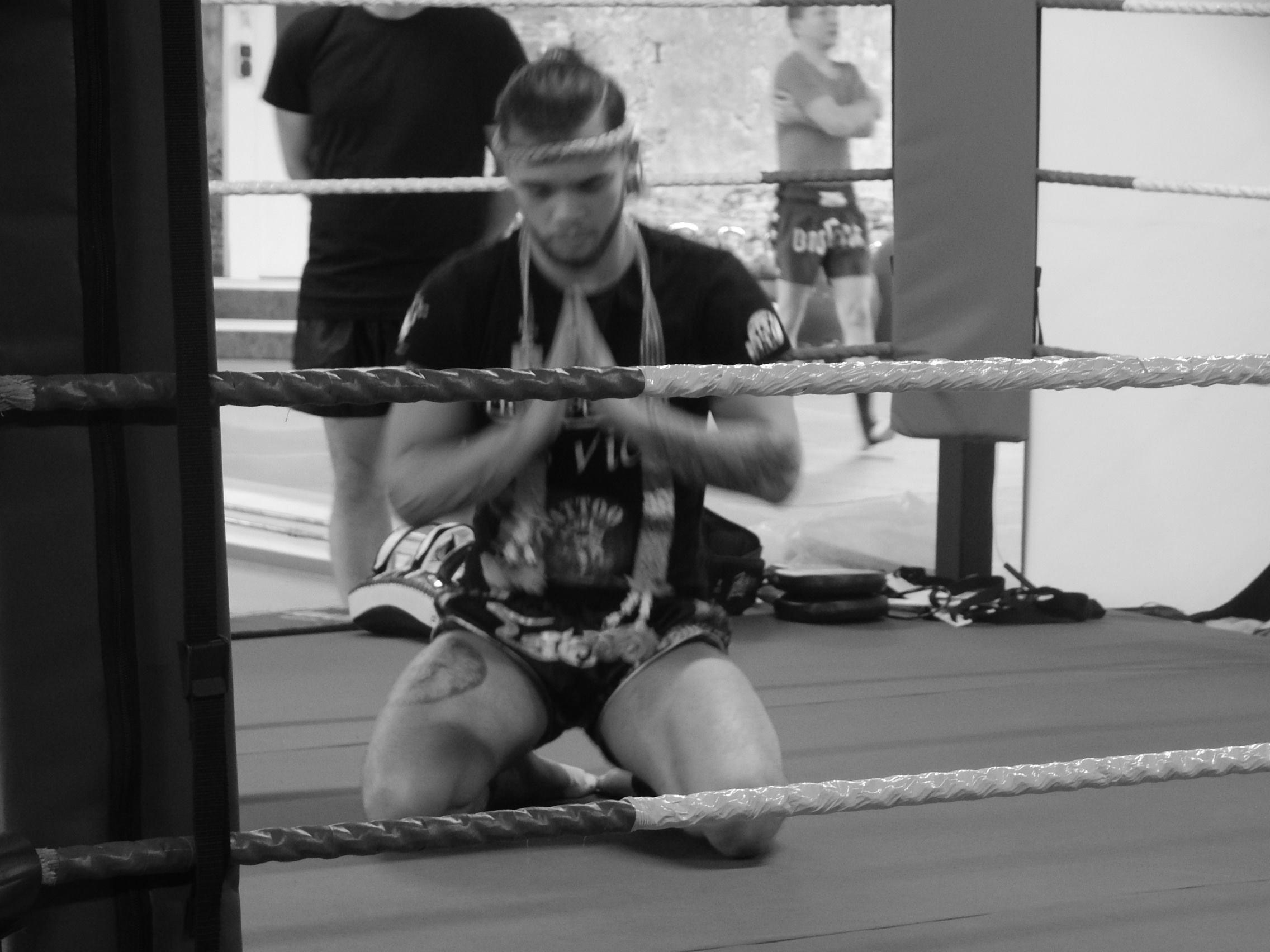 Marcel Niebur Thaiboxer